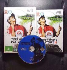Tiger Woods PGA Tour 10 (Nintendo Wii, 2009) Wii Game - PAL - FREE POST