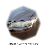 For Mazda 6 Atenza Eyebrows Eyelids Eye Line 2002-2006 Sedan 4D 2pcs