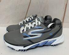 Skechers Go Golf Blade Shoes Women's Size 11  Gray/Blue Waterproof Sketchers