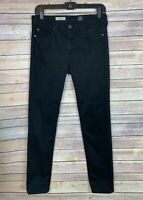 AG Jeans Size 29 Womens Black Prima Midrise Cigarette Skinny Adriano Goldschmied