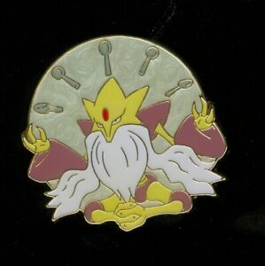 Pokemon ALAKAZAM COLLECTOR'S PIN (Release date: May 2016) - NEW
