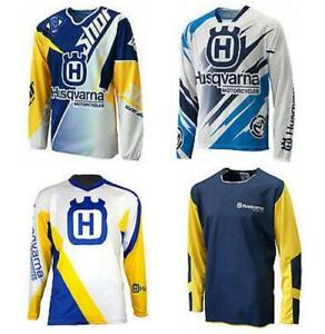 2021 Motocross Racing Suit Husqvarna Husky Combo Jersey long Sleeve Shirt MX