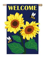 Sunflower Welcome Garden Flag! MAKE AN OFFER!!!