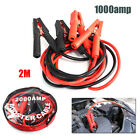 Heavy Duty 1000amp Car Suv Lead Battery Jump Leads 2 Metre Booster Cable Start