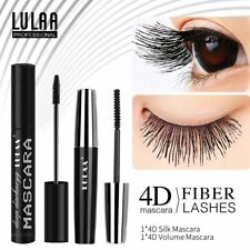 2Pcs/Set 4D Silk Fiber Mascara Rimel Eyelash Extension Thick Black Lengthening