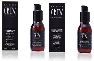 American Crew Shave Ultra Gliding Oil 50ml Pack of 2