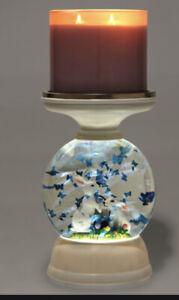 Bath & Body Works BUNNY EASTER Pedestal Water Globe Jar Candle Holder