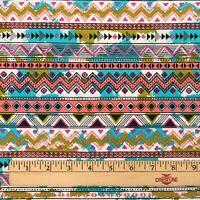 Southwest Soul Southwest Decorative Stripe Aztec Cotton Fabric Fat Quarter