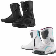 Composition Leather Motorcycle Boots CE Approved