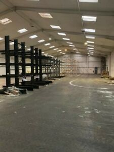 Double Sided Cantilever Racking For Sale Height 4m with 3 Levels