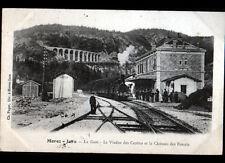 MOREZ (39) TRAIN en GARE animée 1906