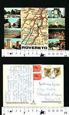 ROVERETO (TN) - VEDUTINE DIVERSE DELLA LOCALITA' CON CARTA STRADALE - 56371