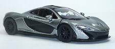 NEU: 2013 McLaren P1 Sammlermodell 1:36 metallic silbergrau Neuware von KINSMART