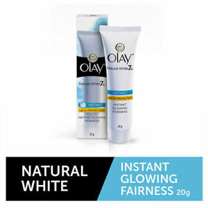 Olay Natural White Instant Glowing Fairness Cream 20g / 20gm | Expiry 09/2022