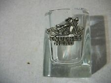 Knuckle Head Motorcycle whiskey shot glass