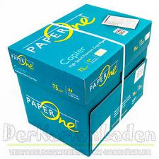 Paper One DIN A4 Kopierpapier Druckerpapier Weiss Copier Papier 75 Bürobedarf