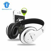 P47 Wireless Bluetooth Sports Headphones Microphone Portable Stereo FM Headsets