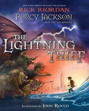 Percy Jackson and the Olympians The Lightning Thief IllustratedEdition [New Book
