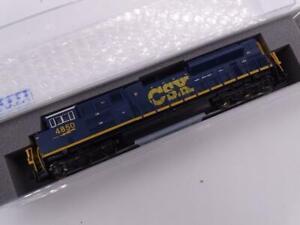 Kato EMD SD70ACe CSX 4850 N Scale Model Train Locomotive 176-8437 Railroad New