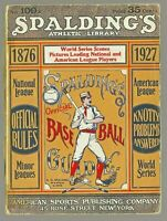 1927 SPALDING GUIDE  380+ Pages  BABE RUTH ADS
