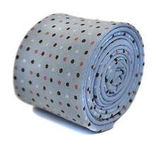 Frederick Thomas Bébé Bleu Pointillé 100% coton cravate ft2162rrp