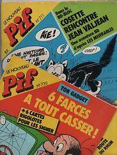 PIF GADGET - Lot des n°711 à 720  -  novembre 1982  à Janvier - NEUF sans gadget