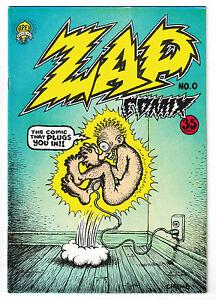 Zap Comix 0•1967 Apex Novelties•3rd Print•Unread pages•VF+ /NM Comic Book