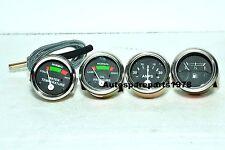 Massey Ferguson Temp, Oil Pr (Male), Fuel, Ampere Gauge Set TE20,T020,T030,50++