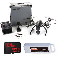 Yuneec Typhoon Q500 4K Quadcopter Drone UHD Kit w/ 3 Batteries + Lexar 64GB Card