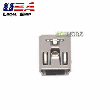 2x MINI USB Charging Socket Dock Port Connector For PS3 Controller HOT