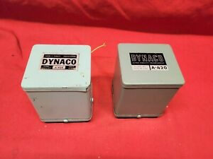 Dynaco A-420 5881 KT66 6CA7 EL34 Tube Amplifier Output Transformers [Pair]