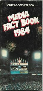 1984 CHICAGO WHITE SOX MLB MEDIA GUIDE VINTAGE