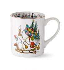 WILLIAMS SONOMA Grinch Christmas coffee mug Tea cup ~New Great Gift