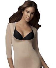 NEW Flexees Maidenform Shapewear M Medium 1366 Arm Toning Top Wear Your Own Bra
