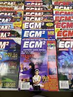 Vintage EGM2 Electronic Gaming Monthly Magazine Lot Of 21 1995-1996 DA92984
