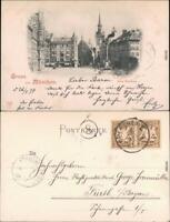 Ansichtskarte München Altes Rathaus 1897