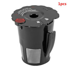 For Keurig 2.0 K-Cup Reusable Refillable Coffee K cup Pod Filter Black