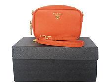 PRADA Saffiano Lux Leather Cross Body Bag Free/Fast Shipping