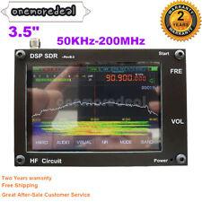 "3.5"" 50KHz-200MHz Malachite SDR Receiver Shortwave 2 Speakers Nice Sound +Shell"