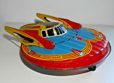 SFA PARIS TERRE MARS FLYING SAUCER W902 TINPLATE SPACE SHIP TOY 1950's RARE  648