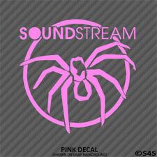 Soundstream Audio Car Stereo Vinyl Decal Sticker V1 - Choose Color