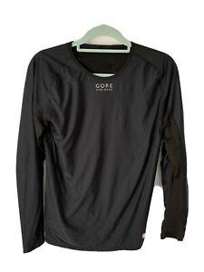 Gore Bikewear Windstopper Black Base Layer. Size Large
