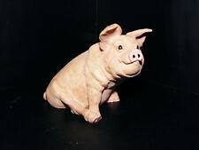"""Castagna   Pig  1988  Model  Italian  Made  Height 3.1/4""""  Length 4"""" Matt Finish"""