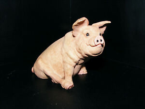 """Pig  1988  Model  Italian  Made By Castagna Height 3.1/4""""  Length 4"""" Matt Finish"""