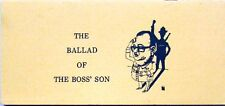 THE BALLAD OF THE BOSS' SON - RICHARD ERDMAN
