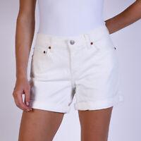 Levi's Weiß Damen Jean Shorts DE 38 / US W30