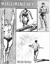 1970 Fanzine MARVELMANIA #4, Barry Smith Conan, Harlan Ellison Joe Sinnott
