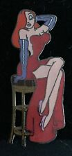 DLR Jessica Rabbit Sitting on Bar Stool Chair Who Framed Roger Disney Pin