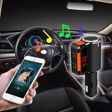 TRASMETTITORE VIVAVOCE BLUETOOTH CON DISPLAY FM LETTORE USB MP3 MODULATORE AUTO