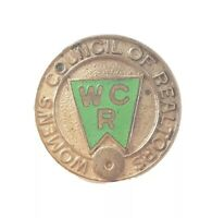 Vintage Women's Council Of Realtors WCR 1974 Lapel Pin